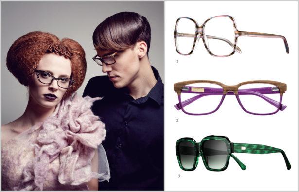 Acetat-Brillen
