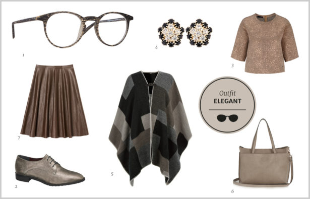 Acetat-Eleganter-Look