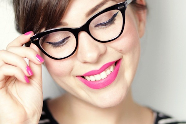 Schminkbrille: Schminken mit Brille, Make-up Brille