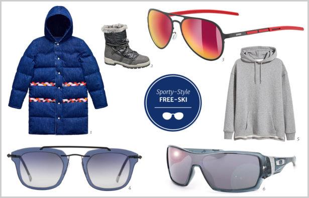 Sporty-Style für Free-Ski-Fans