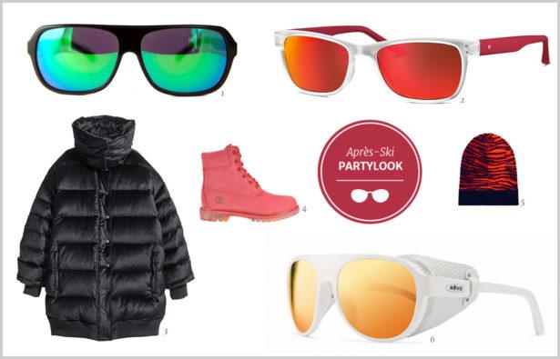 Apres-Ski Brillen Partylook