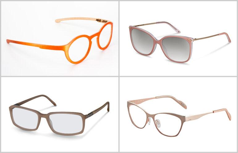 Augenfarbe – blaue Augen – Brillen Brillengestell Brillenrahmen