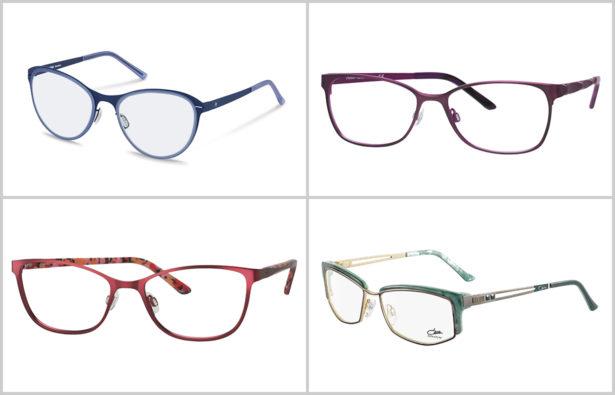 Augenfarbe – braune Augen – Brillen Brillengestell Brillenrahmen
