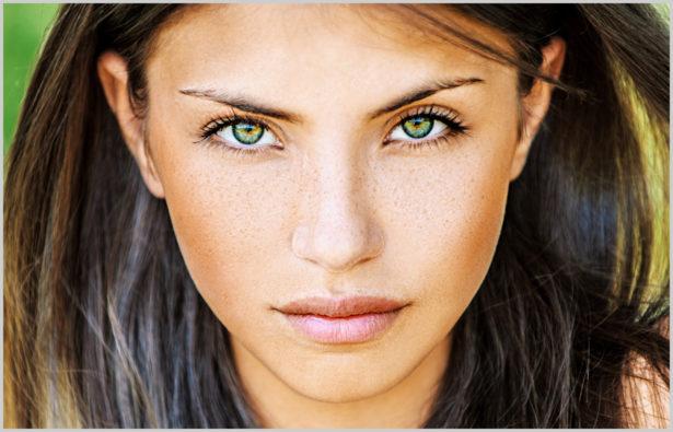 Augenfarbe – grüne Augen