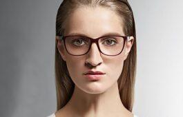 Breite Nase Brille