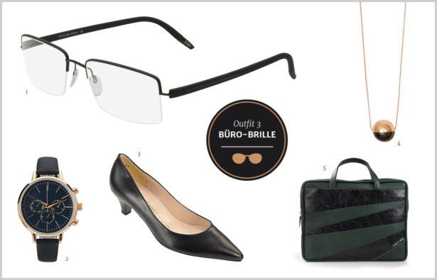 Büro Brille und Accessoires