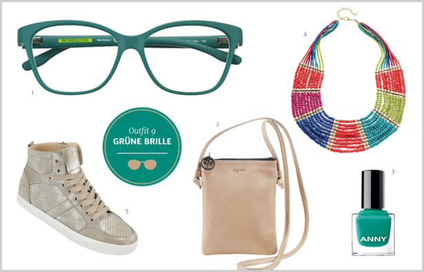 Brillen-Knigge / Farb-Knigge – Gruene Brille – Outfit 9