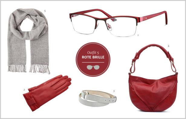 Brillen-Knigge / Farb-Knigge – Rote Brille – Outfit 5