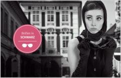 Brillen in Schwarz – Audrey Hepburn lässt grüßen