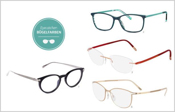 Eyecatcher Brillenbügel – raffinierte Designs und interessante Farbkombinationen