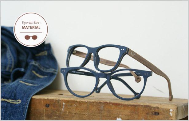 Brillenbügel aus Holz