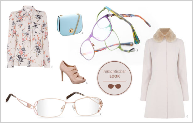 Brillenbuegel romantischer Look