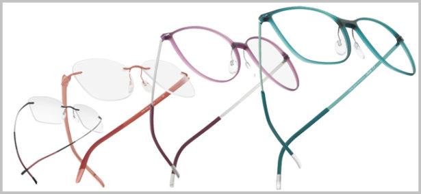 Brillen wie ein Hauch von Nichts: Fassungen sind 2015 filigran und besonders leicht. Bilder: Silhouette
