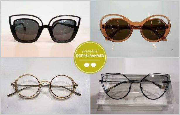 Brillentrends-2018 Brillen mit Doppelrahmen