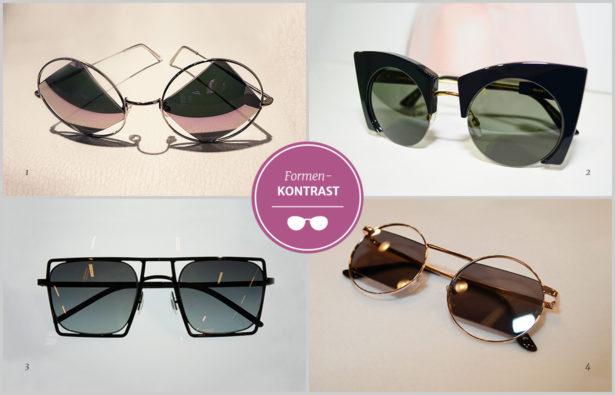 Brillentrends-2018 Brillenfassung und Brillengläser im Formenkontrast