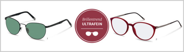 Brillentrends 2016 Ultrafein Brillen