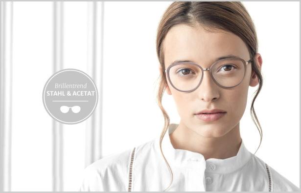 Brillentrends 2016 Stahl und Acetat Brillen Titelbild