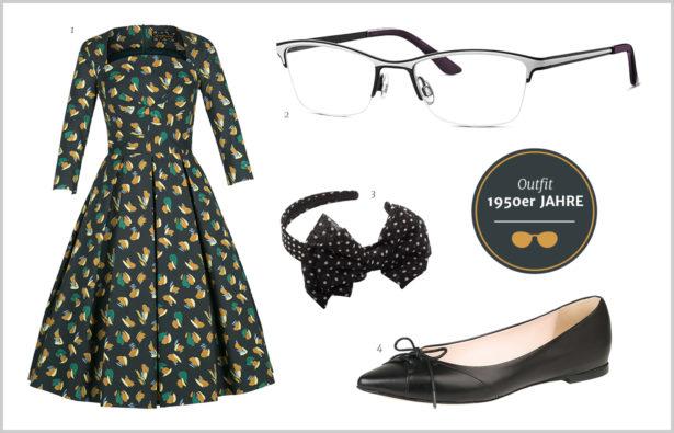 Browline-Brille - 50er Jahre