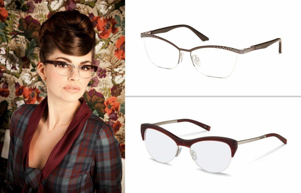 Die Browline-Brille – Sinnbild des Retro Chics