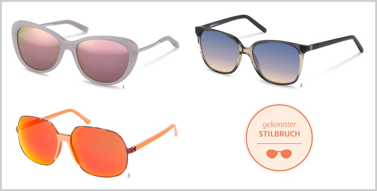 Bunte Brillengläser – der Sommer 2016 wird bunt