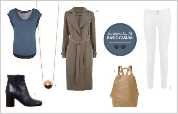 Business Outfit – Basic Casual