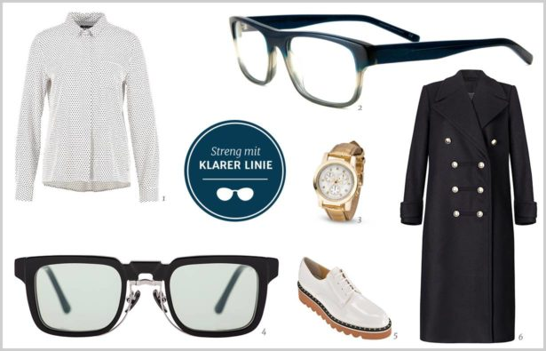 Dandy-Girl-Style Outfit mit klarer Linie