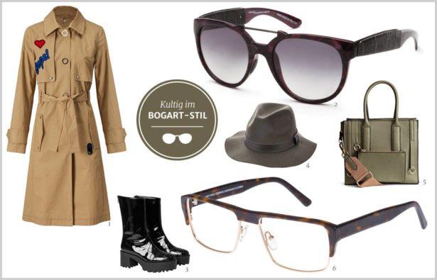 Dandy-Girl-Style Humphrey Bogart-Outfit