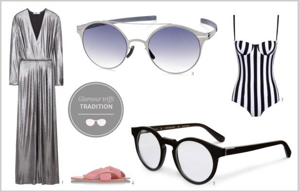 Der gekonnte Stilbruch Glamour Tradition Brille