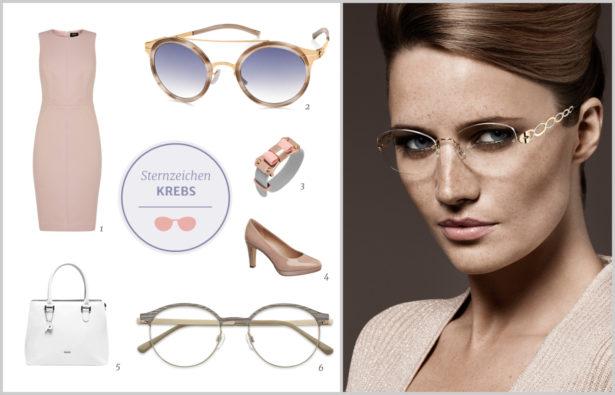 Die perfekte Brille für Ihr Sternzeichen Krebs