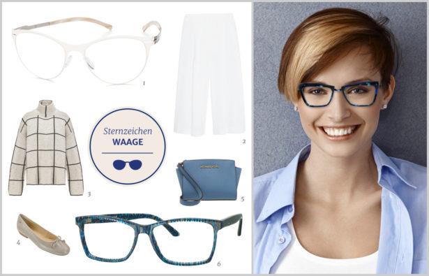 Die perfekte Brille für Ihr Sternzeichen Waage