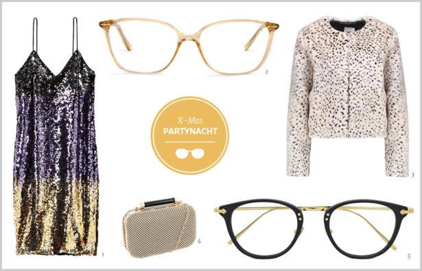 Brillen als Eyecatcher X-mas-Partynacht