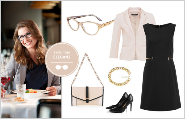 Erstes Date – Klassische feminine Eleganz Outfit