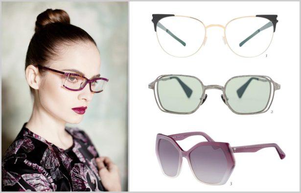 Extravagante Brillen Formvollendung