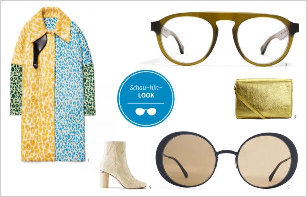 Extravagante Brillen Schau-hin-Look