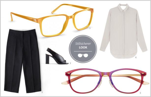 Extravagante Brillen stilsicherer Look