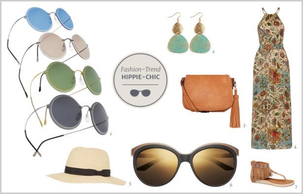 Brillen-Trends Frühjahr 2016 zum Hippie-Look