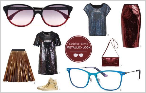 Fashion-Trends Frühjahr 2016 Metallic-Look