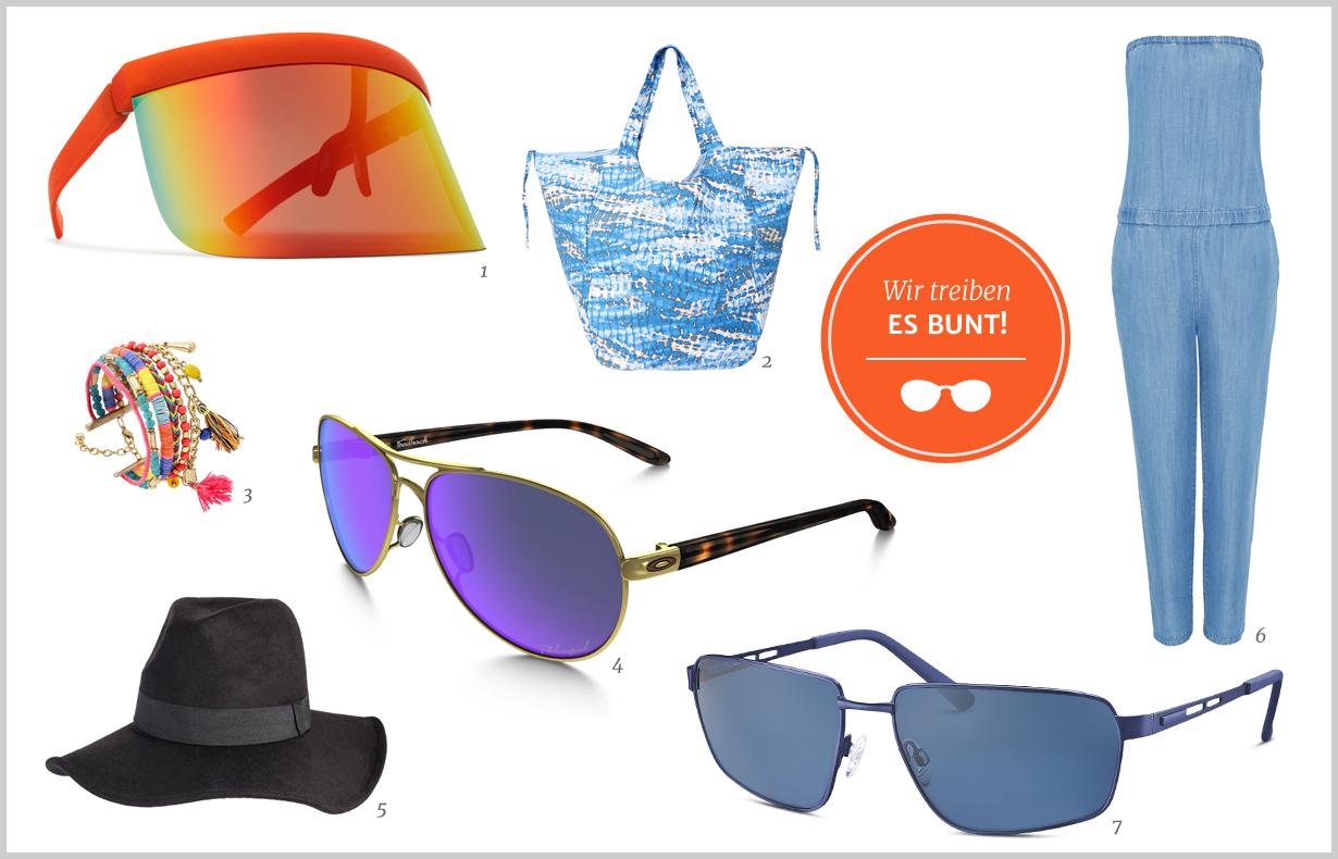 Die perfekte Sonnenbrille für Ihr Festival-Outfit 2016