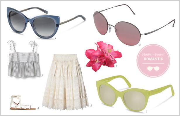 Sonnenbrille für Ihr Festival-Outfit