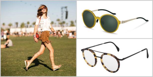 Brille zum Festival