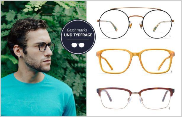Brillen Herren welche Brille passt zum Typ