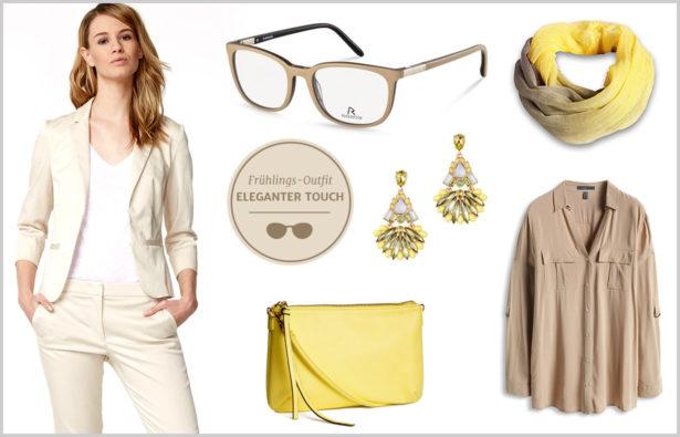 Frühlingstyp: Frühlings-Outfit - Eleganter Touch