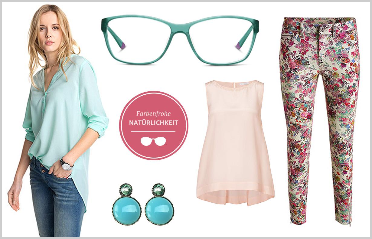 Welche Farben Passen Zu Einer Rosa Hose : Charmant blühender Style mit erfrischendem Farbenspiel