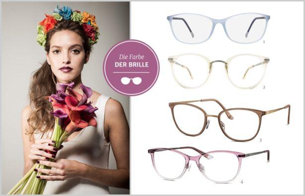 Heiraten mit Brille die Farbe der Brille