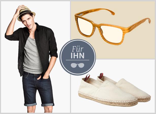 Holzbrille Styling für Männer