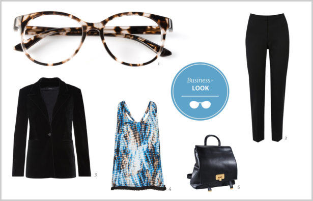 Hornbrille Business-Look