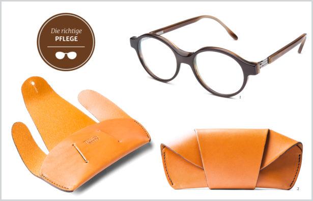 Hornbrille Pflege