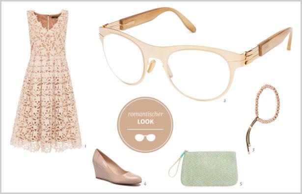 Hornbrille romantischer Look