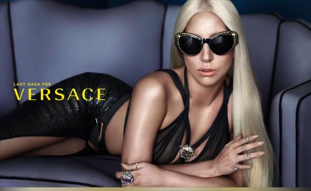 Lady Gaga Versace Sonnenbrillen