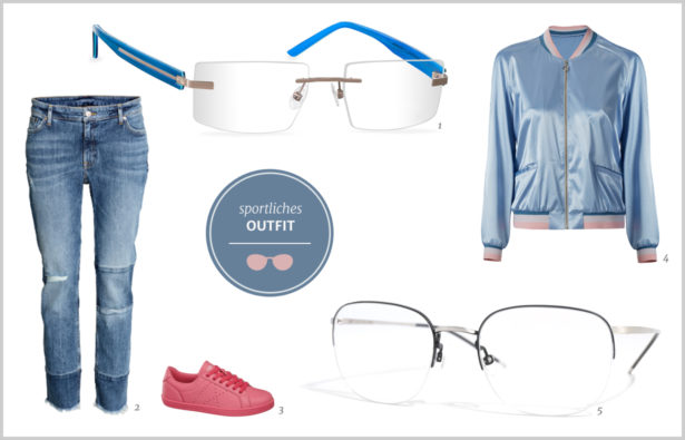 Minimal-Look sportliches Outfit